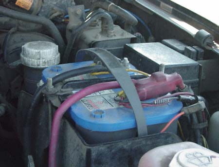 optima agm battery blue top