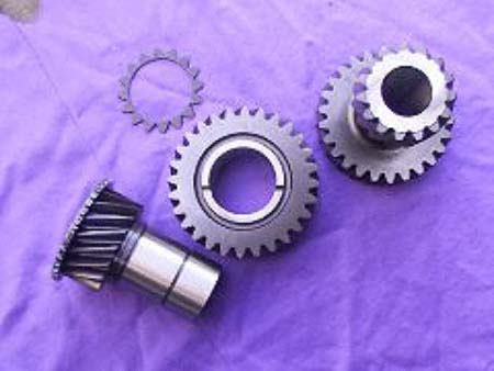 transfer case gears 2.85